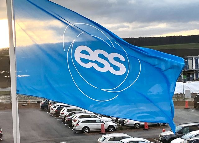 ESS flag outside our offices