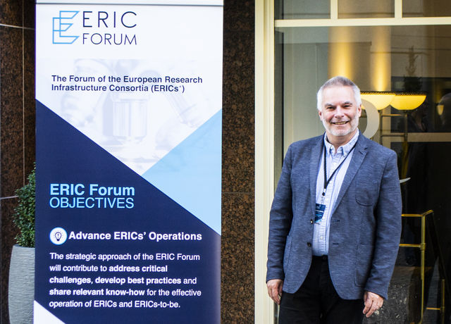 John Womersley has been elected new ERIC Forum Chair.