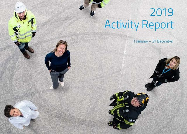 Activity report 2019 cover