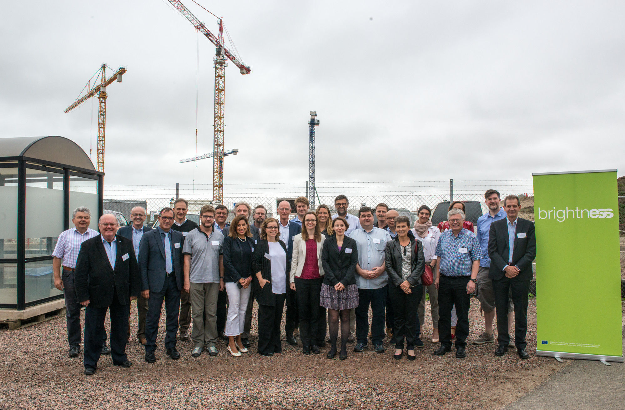 2017 BrightnESS General Assembly at the ESS construction site