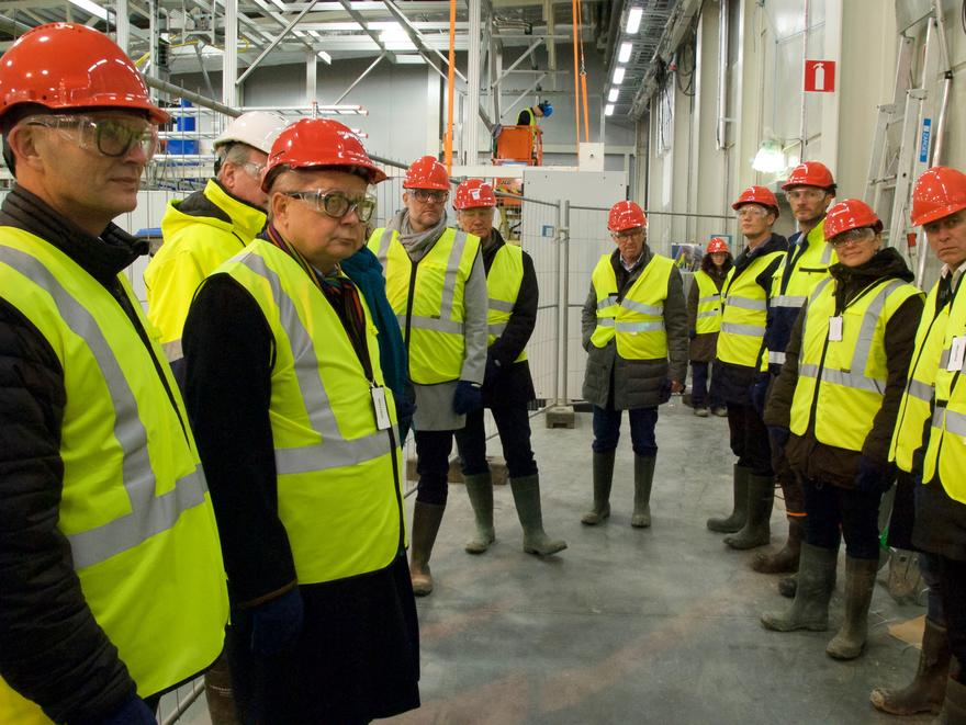 danish ess mou site tour
