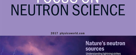 physics world october 2017 cover